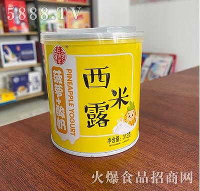 庄锦记西米露菠萝+酸奶312g