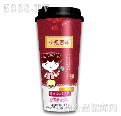 小煮吉祥红豆风味牛乳茶固体饮料88g