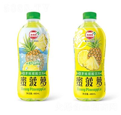 友利友蜜菠萝菠萝味碳酸饮料480ml