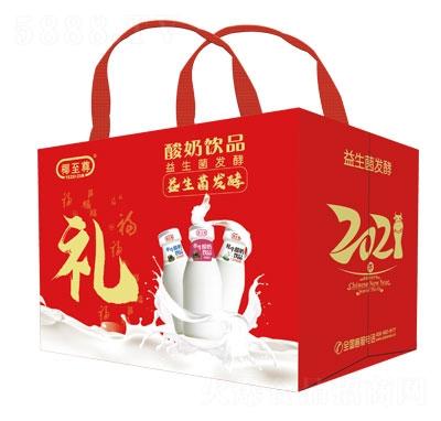 椰至尊水牛酸奶�品(�Y盒)