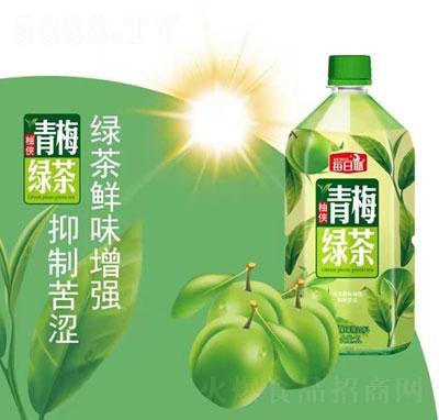 每日椰青梅绿茶