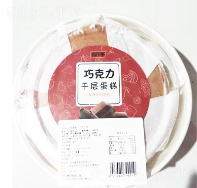 麦乐果千层蛋糕巧克力味