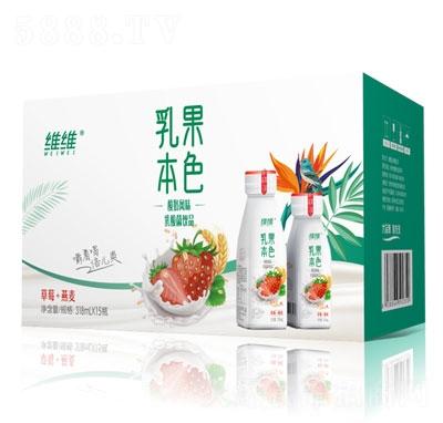 �S�S乳果本色酸奶�L味乳酸菌�品(草莓+燕��)