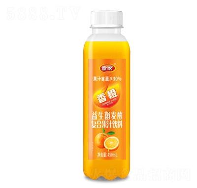 壹家益生菌发酵香橙果汁饮料450ml