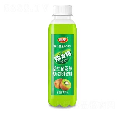 壹家益生菌发酵猕猴桃果汁饮料450ml