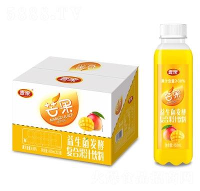 壹家益生菌发酵芒果果汁饮料450mlX15