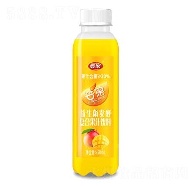 壹家益生菌发酵芒果果汁饮料450ml