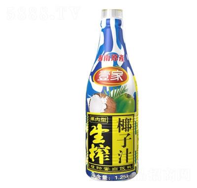 壹家生榨椰子汁1.25kg