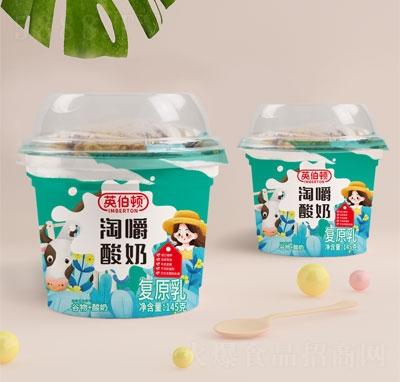 英伯�D淘嚼酸奶(谷物+酸奶)145g