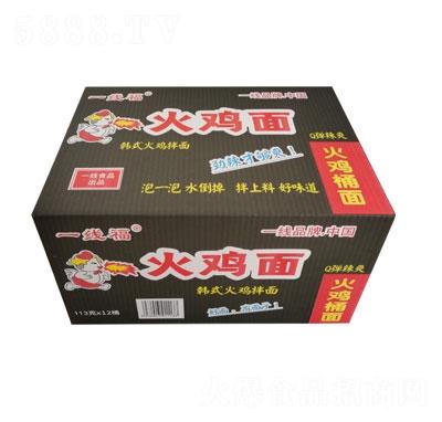 一线福火鸡面韩式拌面小桶箱装