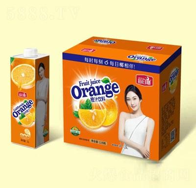 每日椰橙汁饮料1LX6瓶