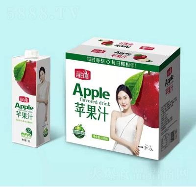 每日椰苹果汁1LX6瓶