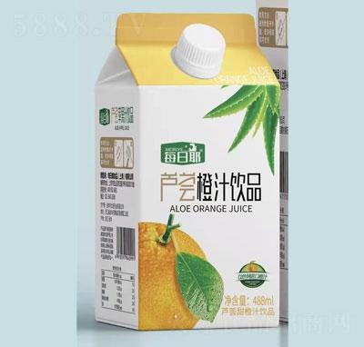 每日椰芦荟橙汁饮品488ml