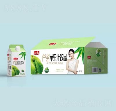每日椰芦荟苹果汁饮品488mlX15瓶