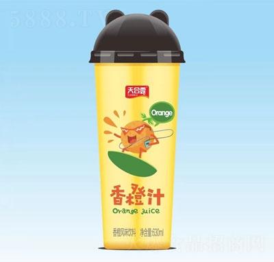 天合露香橙汁630ml(杯装)