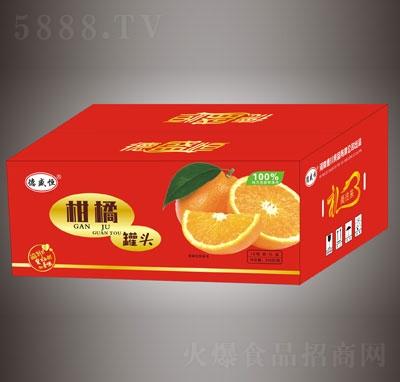 德盛恒柑橘罐头12瓶礼盒装