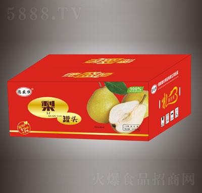 德盛恒梨罐头12瓶礼盒装