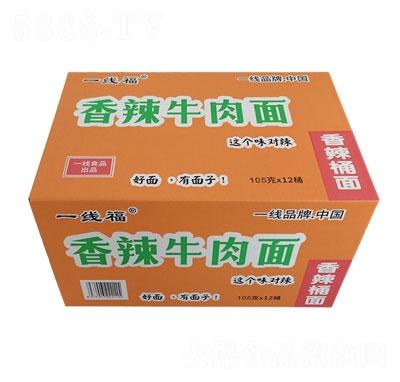 一线福香辣牛肉面105gX12桶