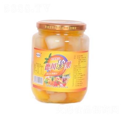 德川珍果混合水果罐头罐装750克