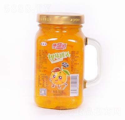 德盛恒柑橘罐头罐装560克