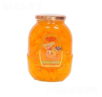 德盛恒柑橘罐头罐装700克