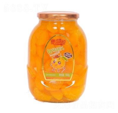 德盛恒柑橘罐头罐装900克