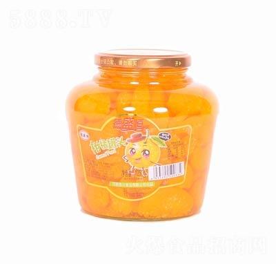 德盛恒柑橘罐头罐装1250克