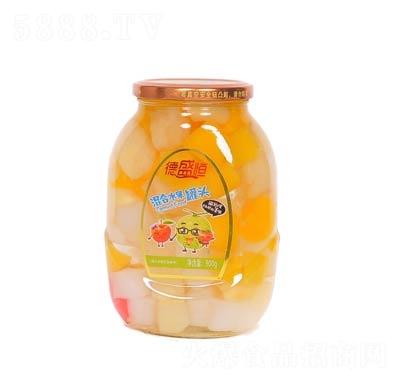 德盛恒混合水果罐头罐装900克