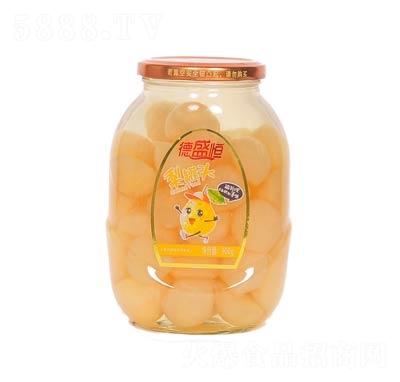 德盛恒梨罐头罐装900克