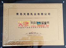 招商大会参展企业证书