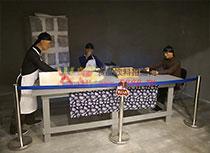 稻香村历史博物馆人物模型