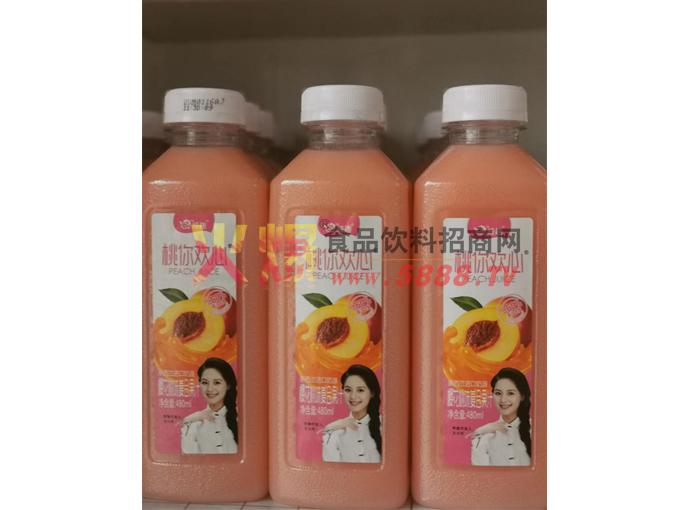 桃你欢心果汁