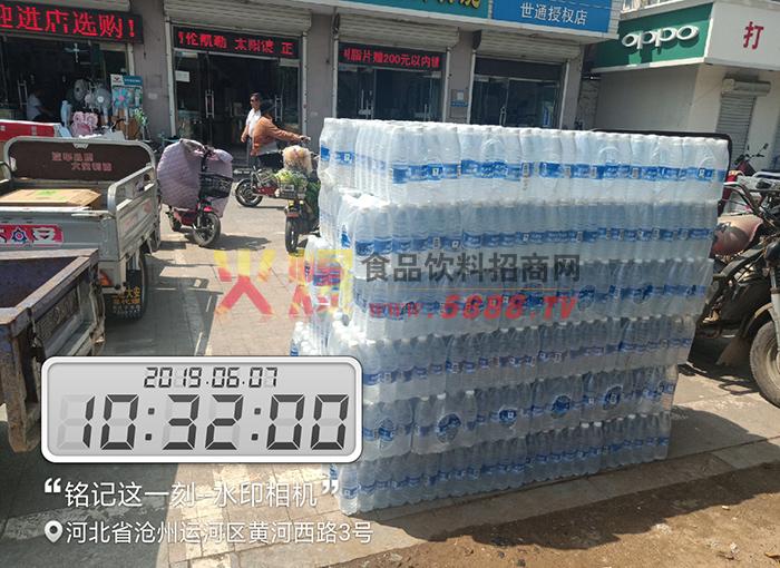 珊瑚泉包装饮用水产品陈列