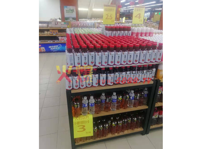 珊瑚泉酸枣汁陈列图