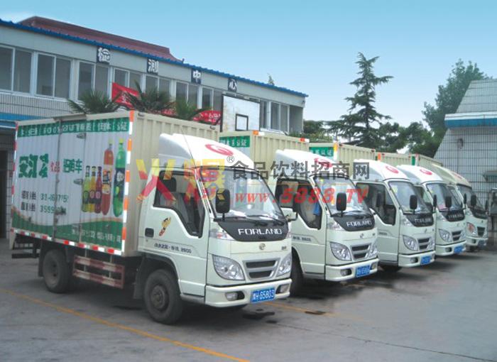 安江凌送货车队
