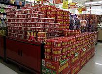 酸辣粉超市促销