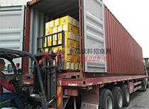 丰盛食品饮料运货车运货
