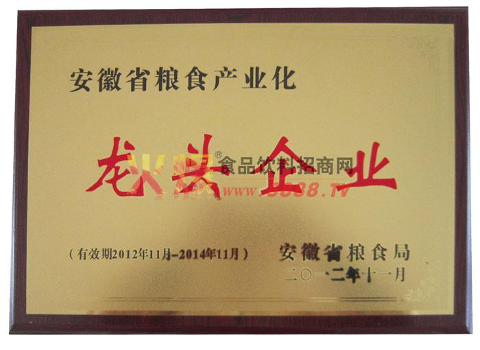 安徽省粮食产业化龙头企业