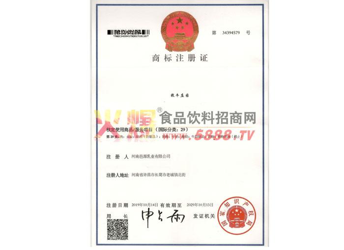 公司商标注册证
