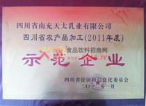 2009年四川省成长型中小企业