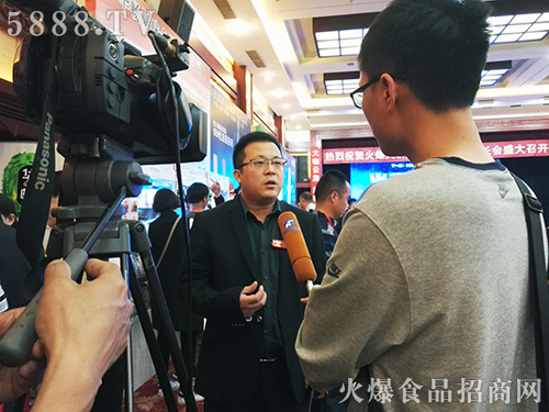 火爆大讲堂郑州站,火爆网何总接受河南电视台采访!