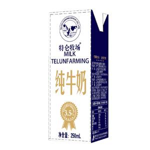 黄金奶源,成就好奶!特仑牧场纯牛奶品质如一,6月27