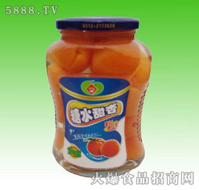 聚丰糖水甜杏罐头