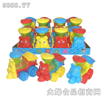 拉线灯光动物火车头玩具糖果现面向全国招商-汕头市