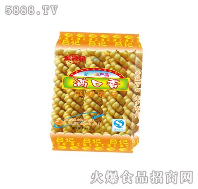 满口香咸酥麻花 青海西宁吕记麻花厂-火爆食品饮料网.