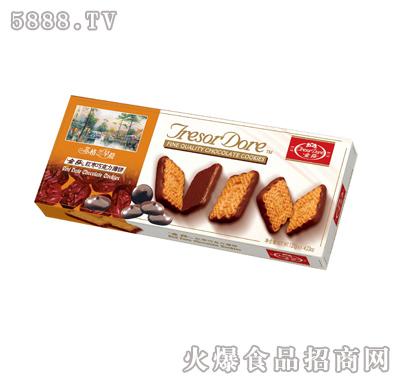 金莎红枣巧克力薄饼-120g