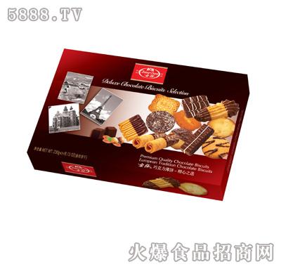 金莎巧克力薄饼230g