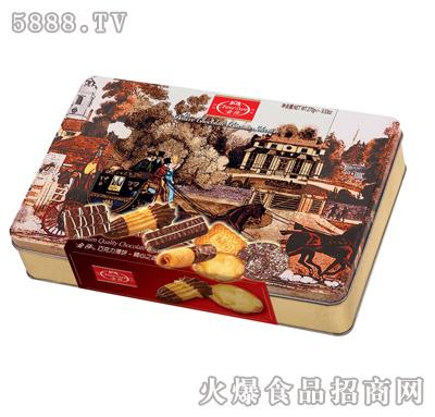 金莎巧克力薄饼(铁盒)-270g