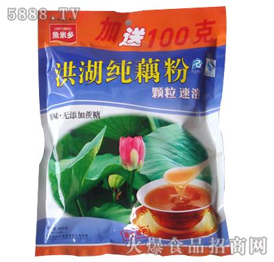 鱼米乡无糖纯藕粉