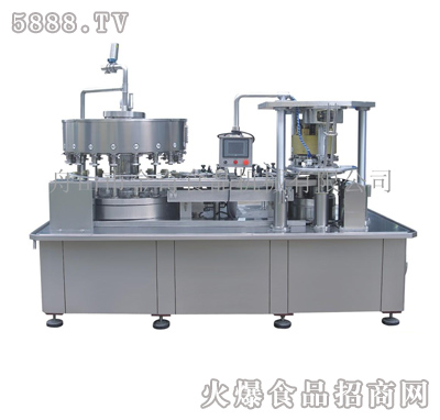 JQ4B250自动灌装封罐机组